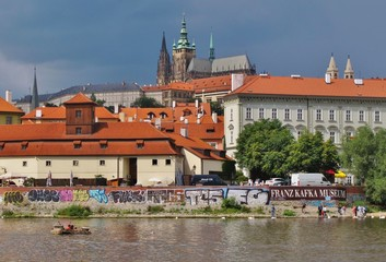 Prag, Moldau und Burgberg