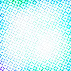 blue halftone frame