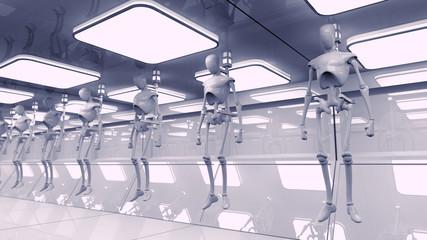 SCIFI Robots