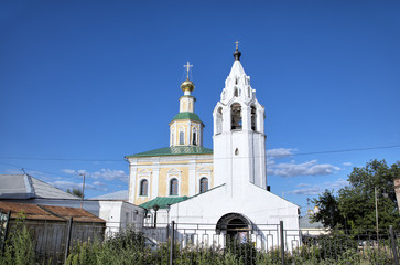 St. George church. Vladimir, Golden ring of Russia.