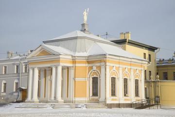 Ботный домик в Петропавловской крепости