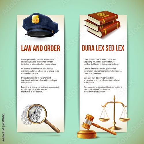 Law vertical banners - 69210641