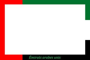 Rahmen Vereinigte Arabische Emirate - VAE