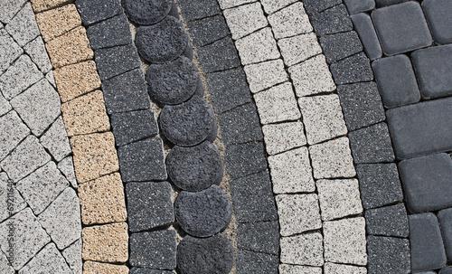 pattern on the pavement - 69211640