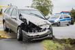 Leinwandbild Motiv Verkehrsunfall