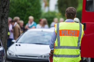 ziviler Polizeibeamter