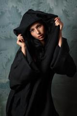 beautiful nun in cape