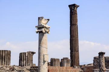 Ruinen des Apollo-Tempels - Pompeji