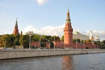 Вид на Кремль с Москвы реки г. Москва