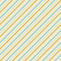 Vintage diagonal stripe seamless pattern (tiling)