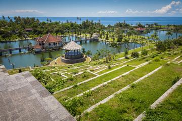 Tirtagangga Taman Ujung water palace. Indonesia