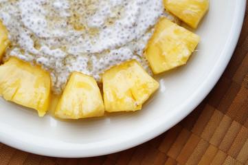 Chia Ananas Pudding