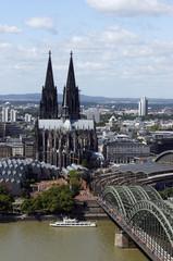 Blick vom Cologne Triangle