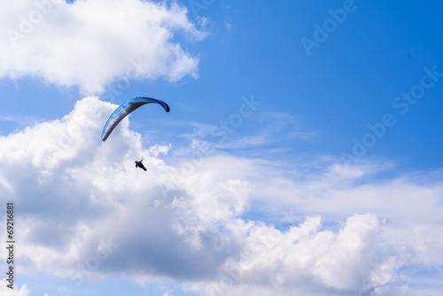 Leinwandbild Motiv Parachutist