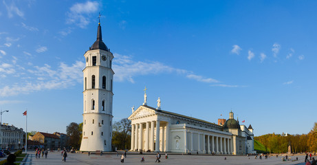 Vilnius. The Cathedral Square
