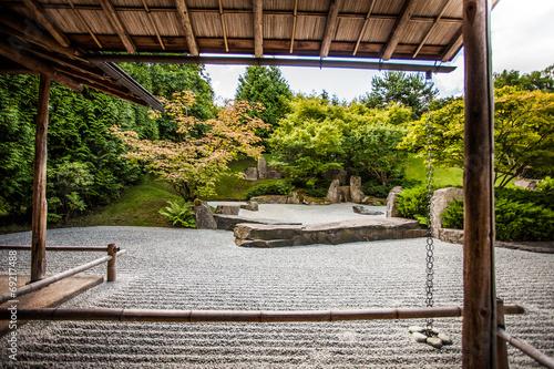 canvas print picture Japanischer Zen Garten