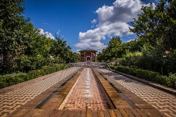 Orientalischer persischer Garten