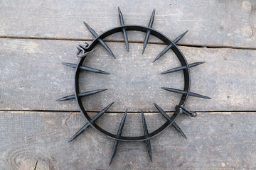 Spiked Punishment Collar, instrument torture