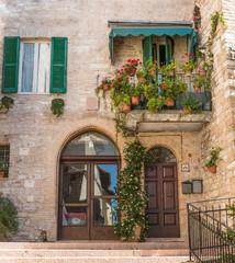 Entrata edificio italiano