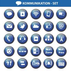 Kommunkation Set 25 icons