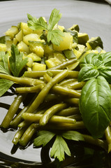 Verduras al vapor Steamed vegetables Verdure bollite