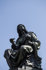 The Frankfurt Johannes Gutenberg Statue