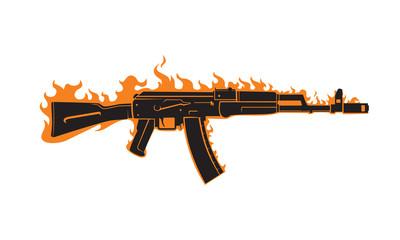 AK-47 vector