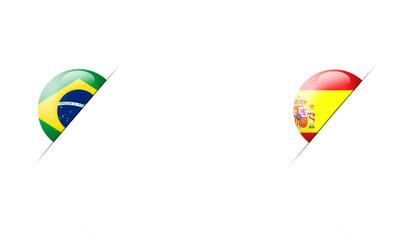 Basketball World Cup 2014 Brazil vs Spain