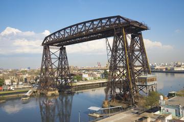 Transporter Bridge La Boca Buenos Aires