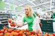 shopping woman at store