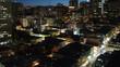 San Francisco Nob Hill Night