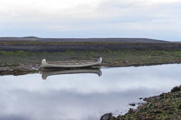 High and Dry Canoe
