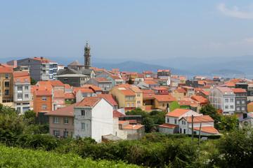 The village Carino, close to Ortigueira in Galicia, Spain