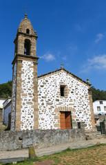 San Andres de Teixido - famous church in Galicia, Spain