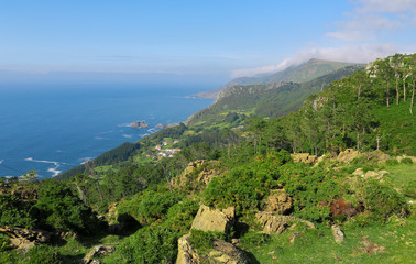 Beautiful Rias Altas in Galicia, Spain.