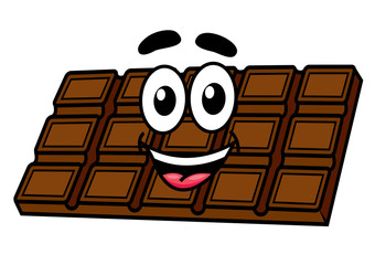 Cartoon chocolate