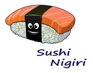 Japanese seafood sushi nigiri