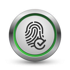 Approved fingerprint