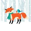 Woodland Christmas time
