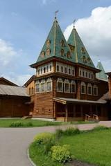 Wooden palace of Tsar Alexei Mikhailovich in Kolomenskoye
