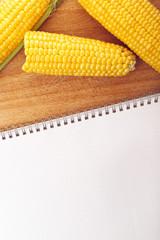 Corn Maize Cobs and Recipe Book