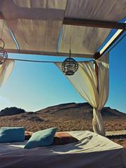 Un gazebo fra le dune