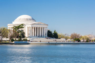 Thomas Jefferson Memorial building Washington