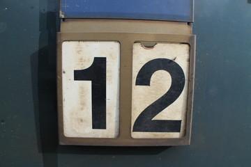 number sing 12