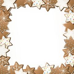Vector Illustration of Gingerbread Cookies