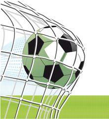 Fußball Torschuss