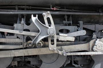 Train à vapeur (détail)