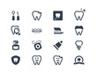 Dental icons - 69250486