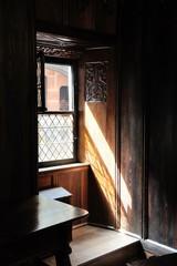 fenêtre ouverte, château du Haut-Koenigsbourg