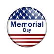 Memorial Day Button